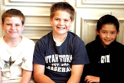Zach, ammon and michael