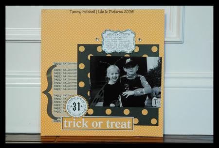 Tammy mitchell trick or treat