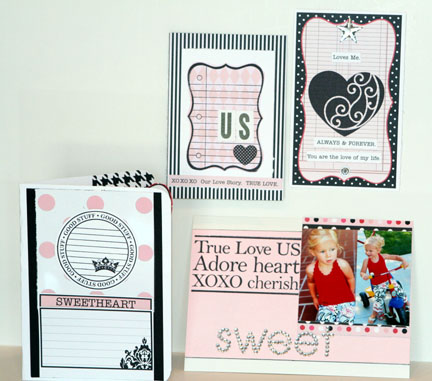 CRUSH- stamp cards and tags
