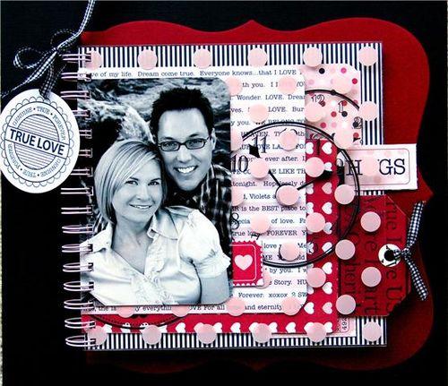 True love CRUSH 9x9 book