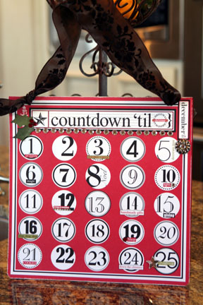 Countdown til christmas full view