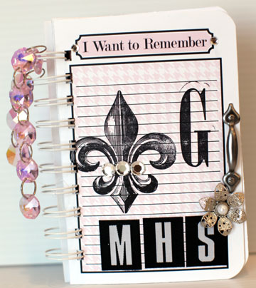 Journal it girl- 4x6 MHS G COVER
