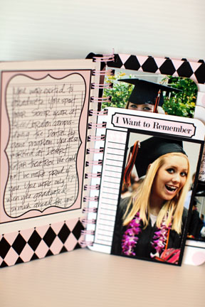 Journal it girl- GRADUATION book view 3