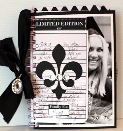 Journal it girl-graduation book COVER