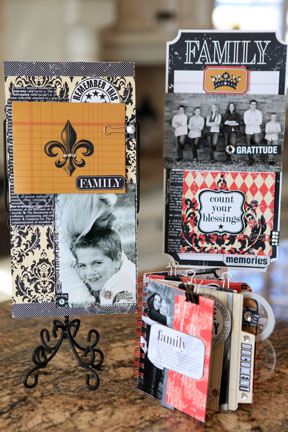 FAMILY retail class kit -3 projects