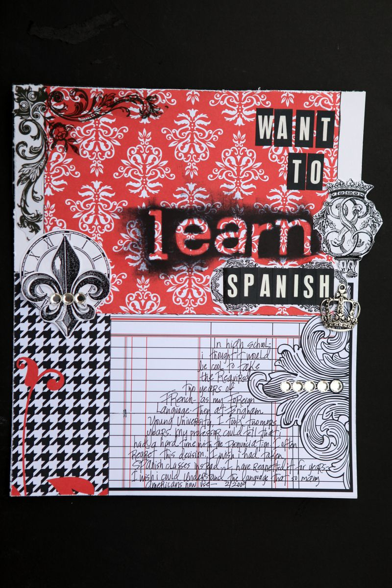 Want to learn SPANISH teresa collins