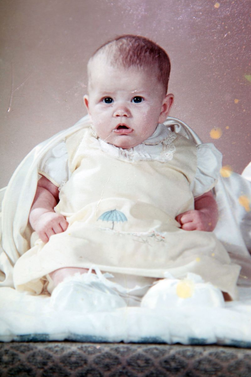 Teresa baby photo
