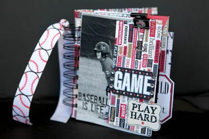 Baseball is life COVER envelope book