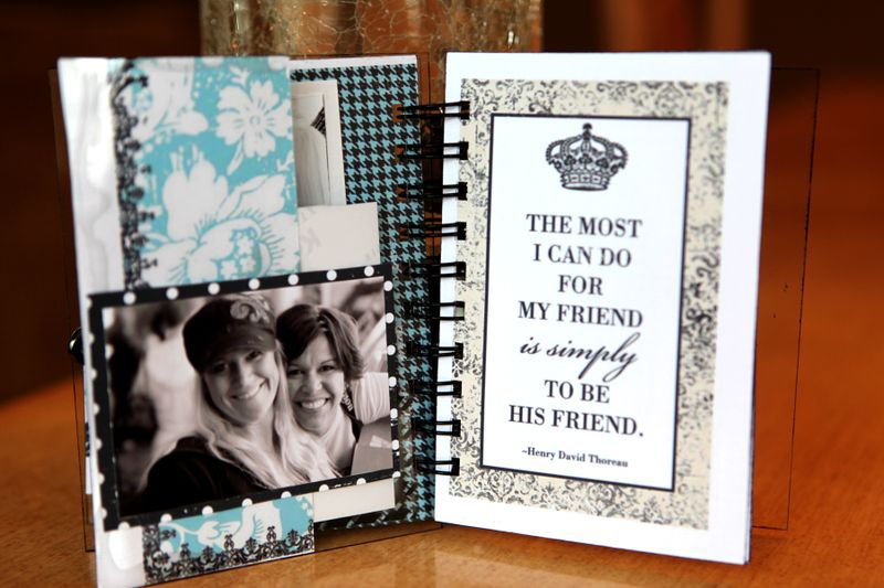 4x6 friendship album view 6