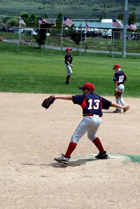 Zach pitching