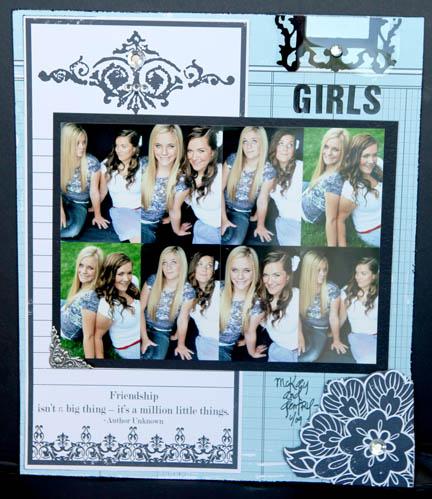 FRiendship GIRLS layout