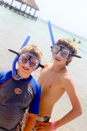 Cruise snorkel
