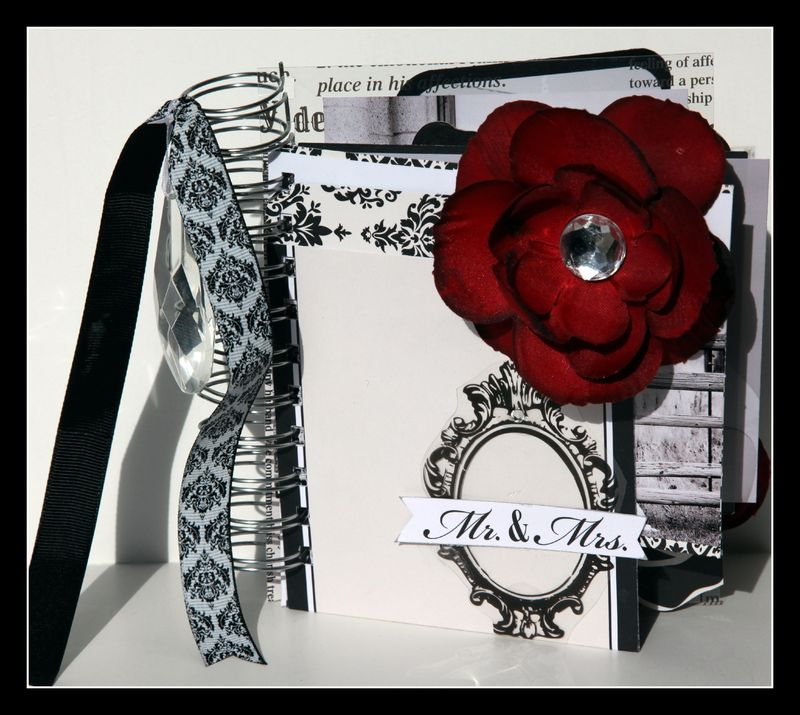 Mr & Mrs. Card & Envelope