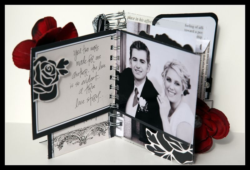 Mr & mrs card and envelope view 2