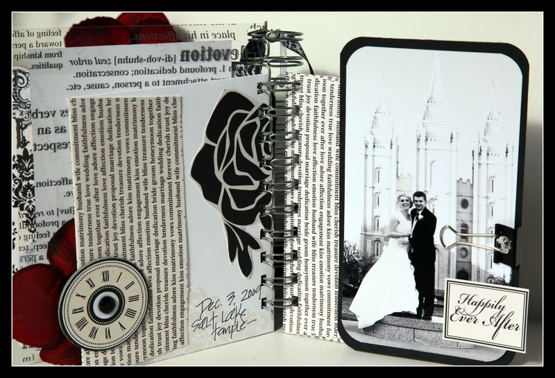 Mr & Mrs Card and Envelope view 3