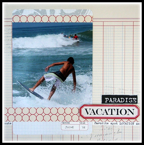 Vacation layout