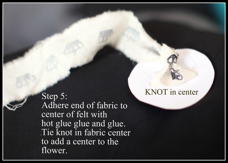 Fabric Flowers 5