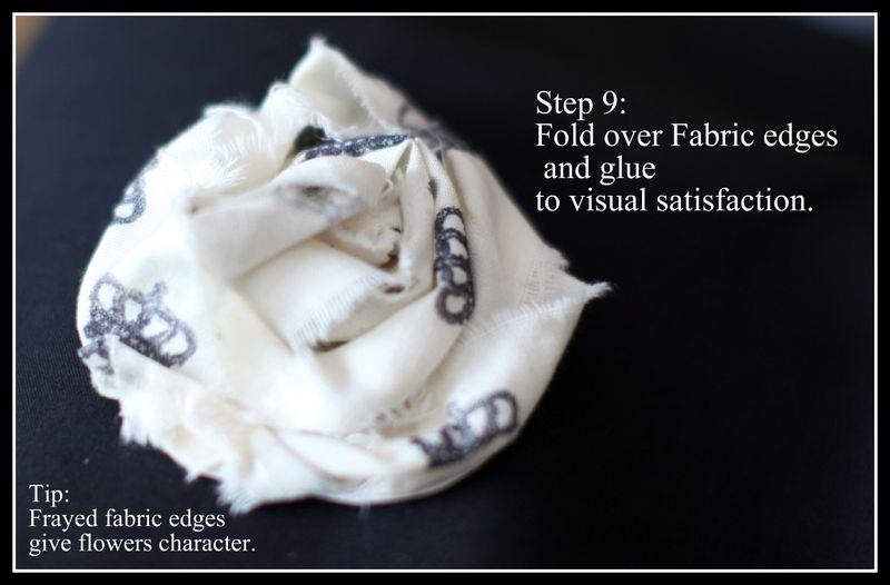 Fabric Flowers 9