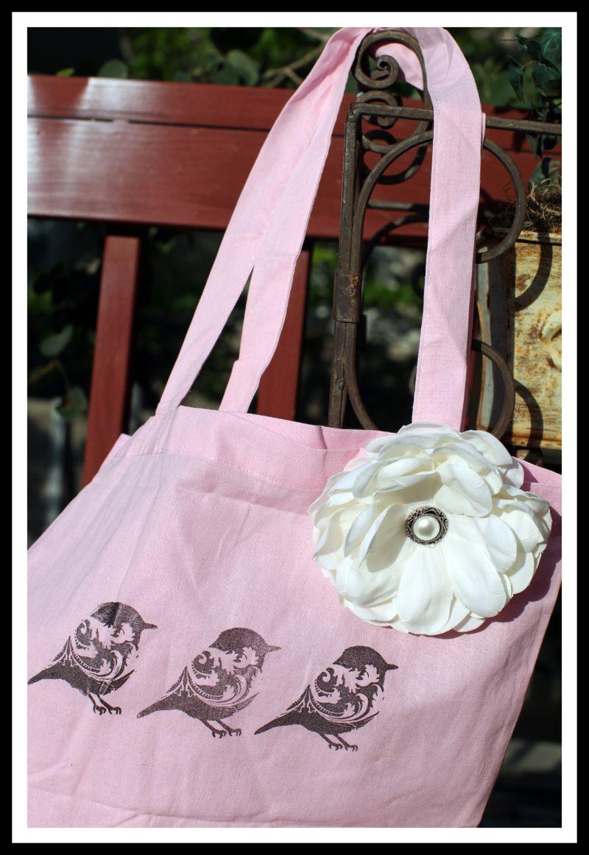 STAMPMAKER BAG w FLOWER