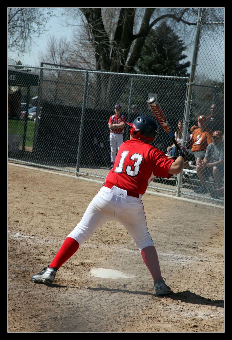Zach batting