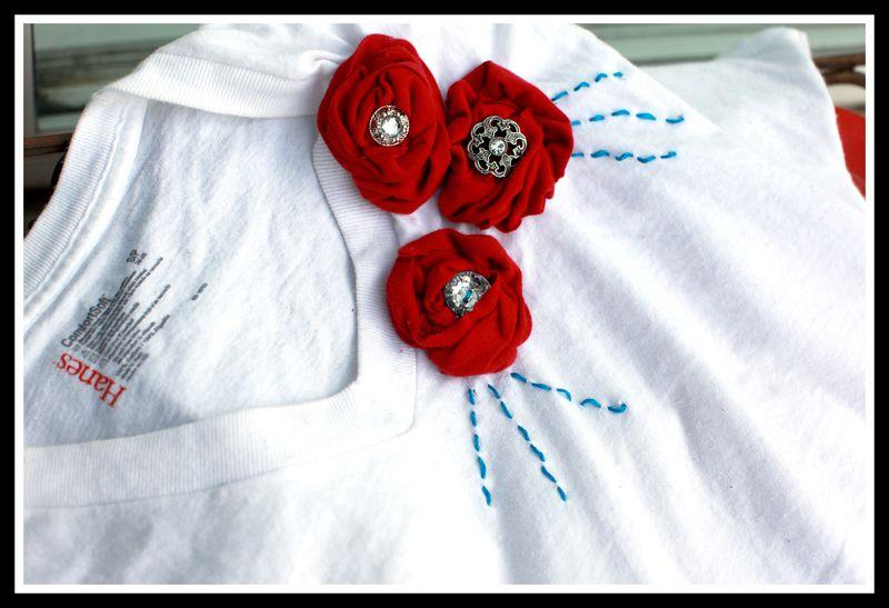 Flower shirt 1