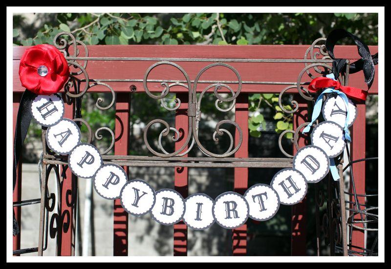 HAPPYBIRTHDAY banner