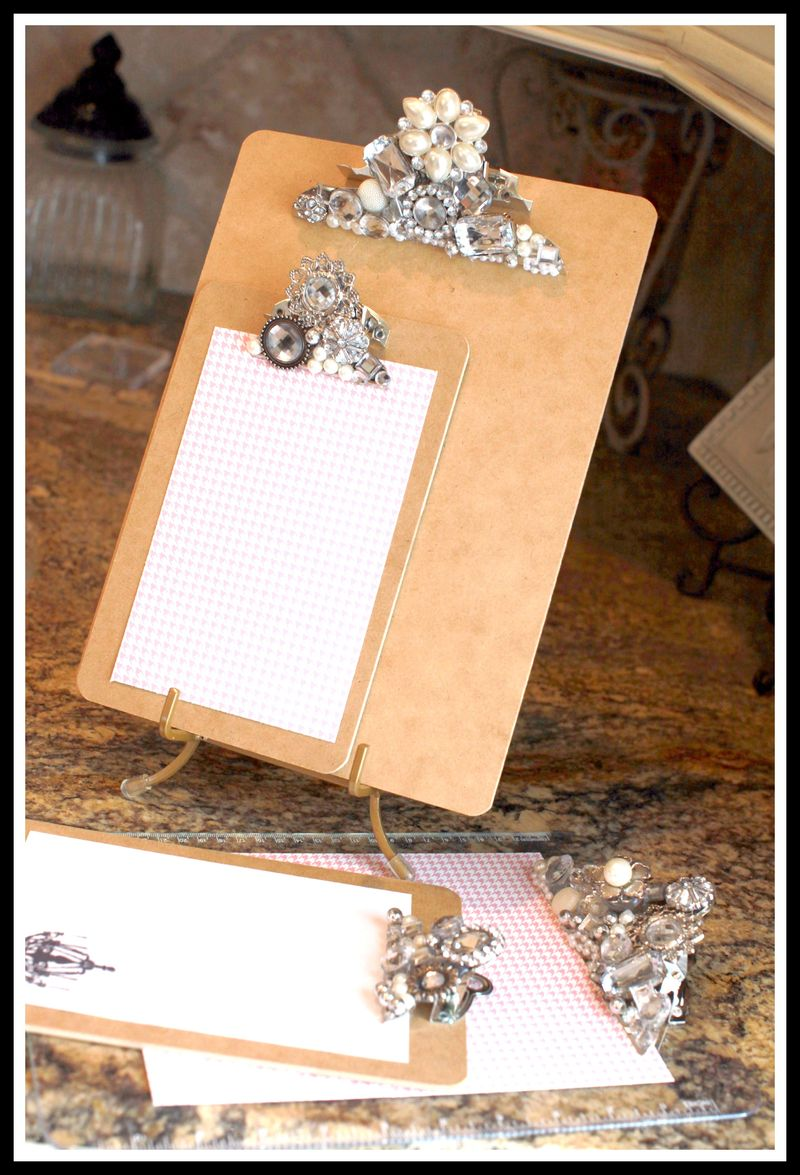 Teresa Collins Blingage Clipboards