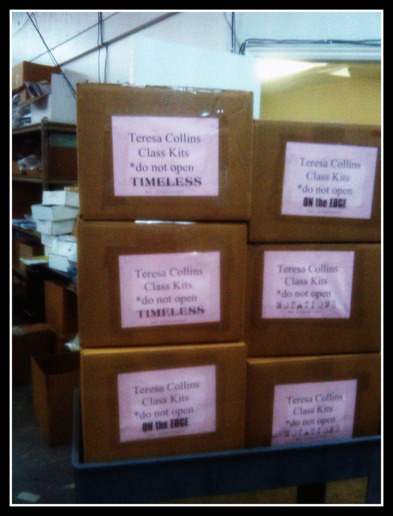 Boxes headed to Georgia