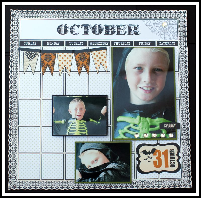 OCTOBER 31 layout