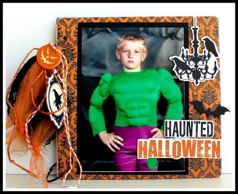 Haunted Hallows 8x8 chipboard cover