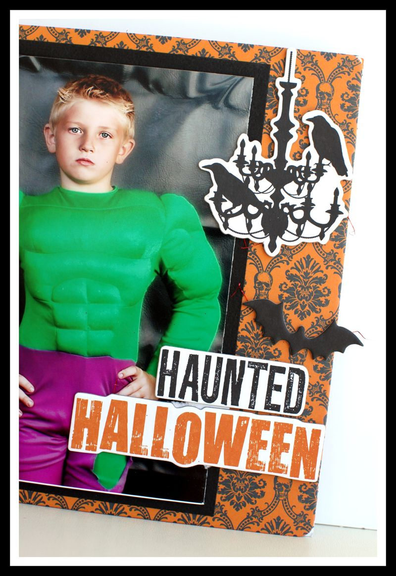 Haunted Hallows 8x8 upclose cover