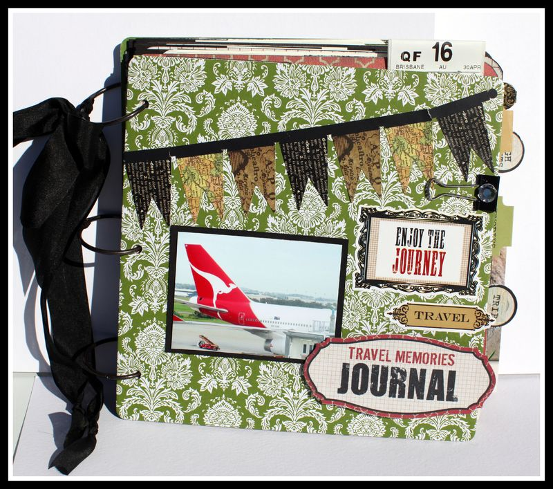 TRAVEL MEMORIES JOURNAL COVER
