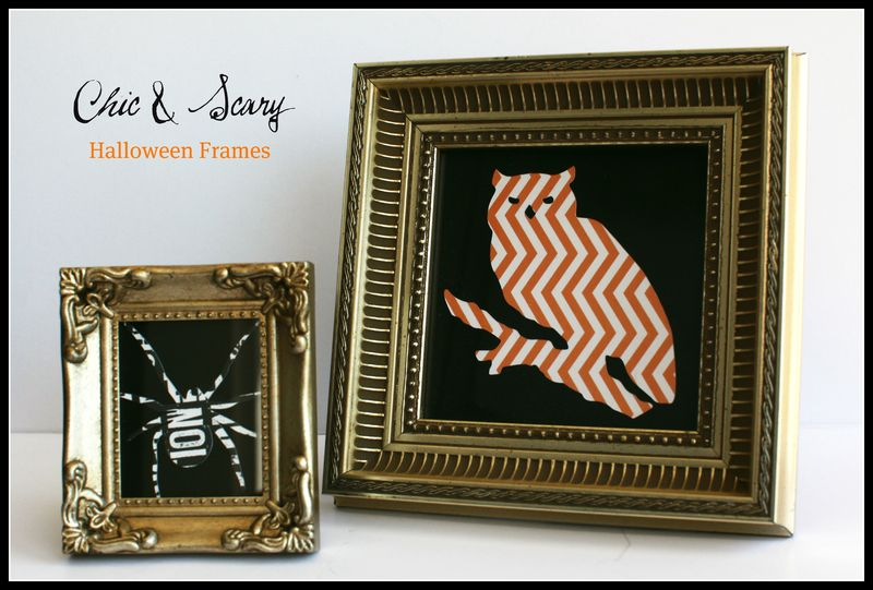 Chic & Scary Teresa Collins Halloween Frames