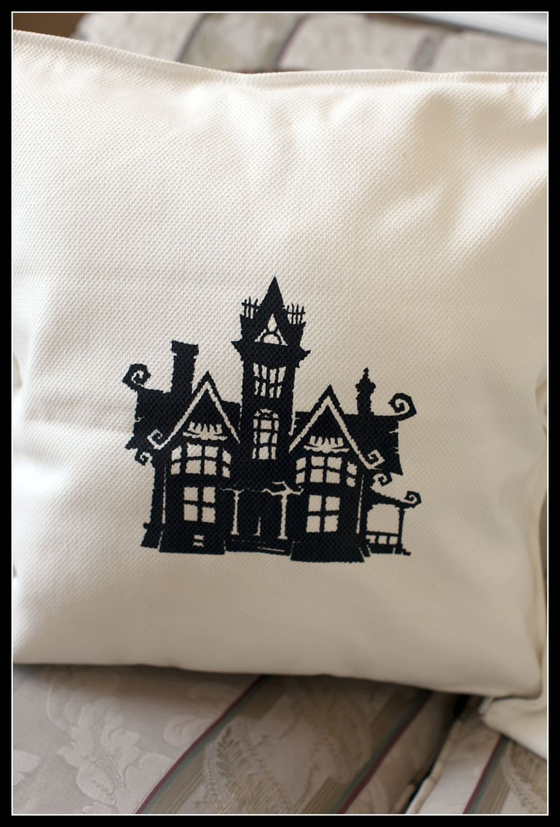 TC Chic & Scary HAUNTED HOUSE YUDU pillow