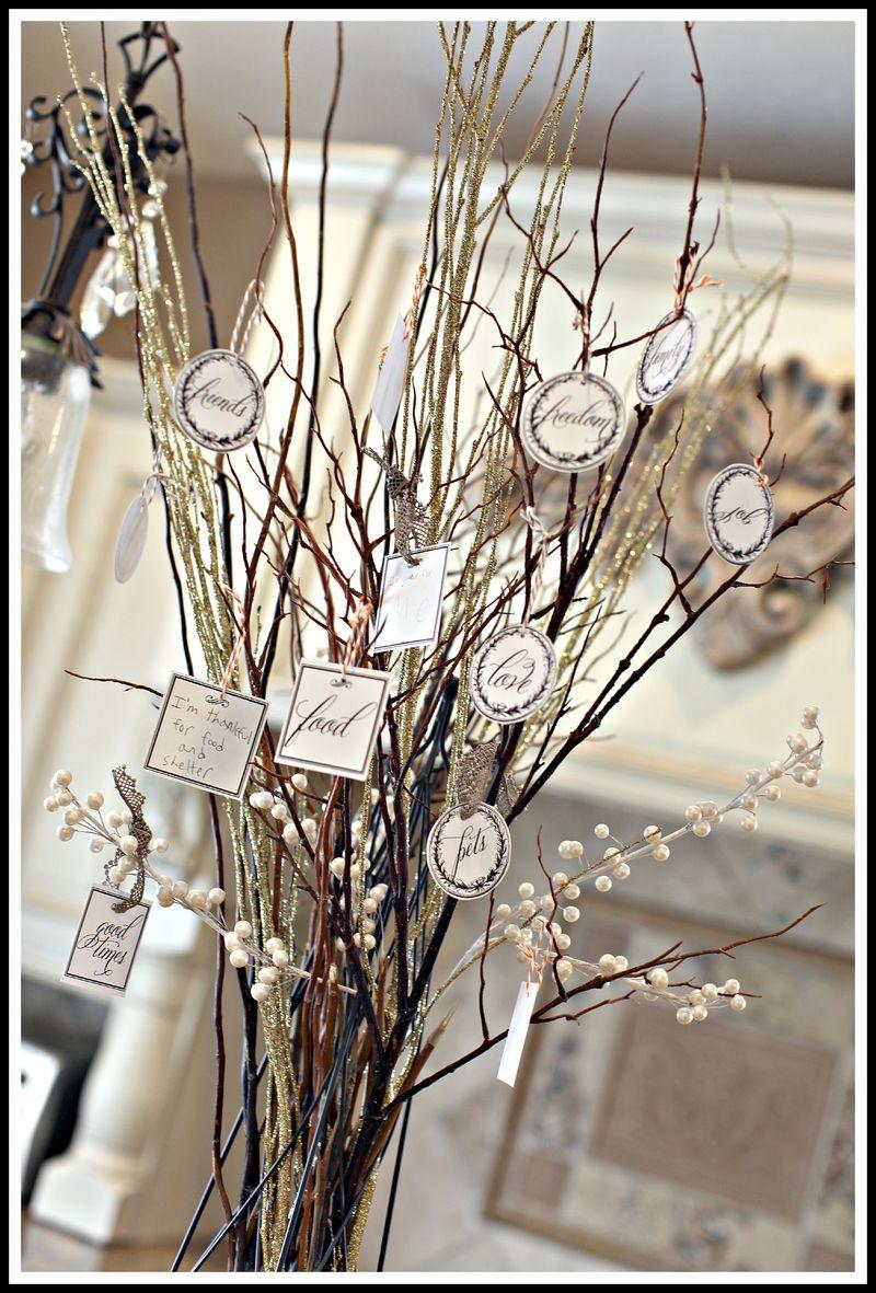 Gratitude tree thanksgiving