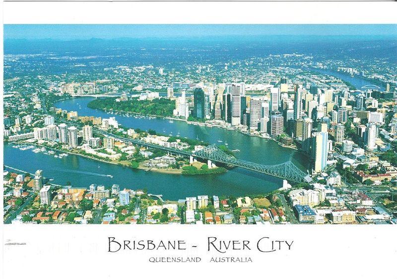 Postcrossing Brisbane Australia