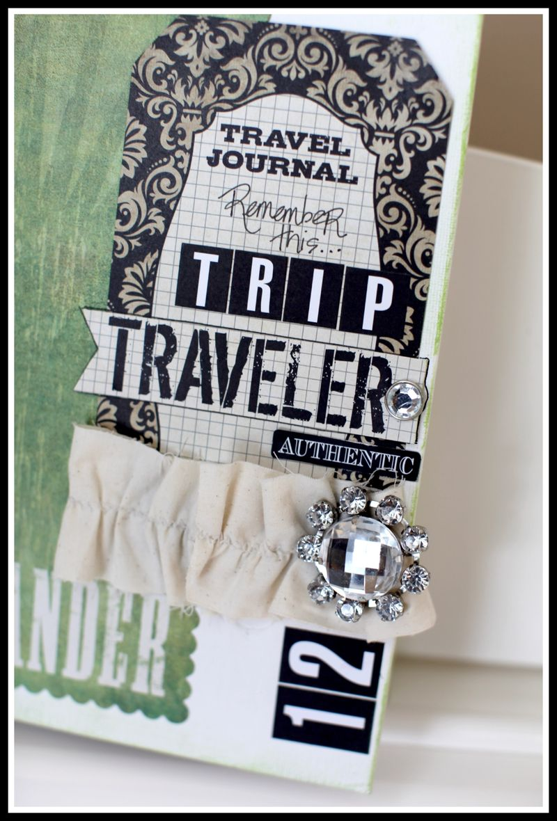 TRAVEL JOURNAL COVER UPCLOSE