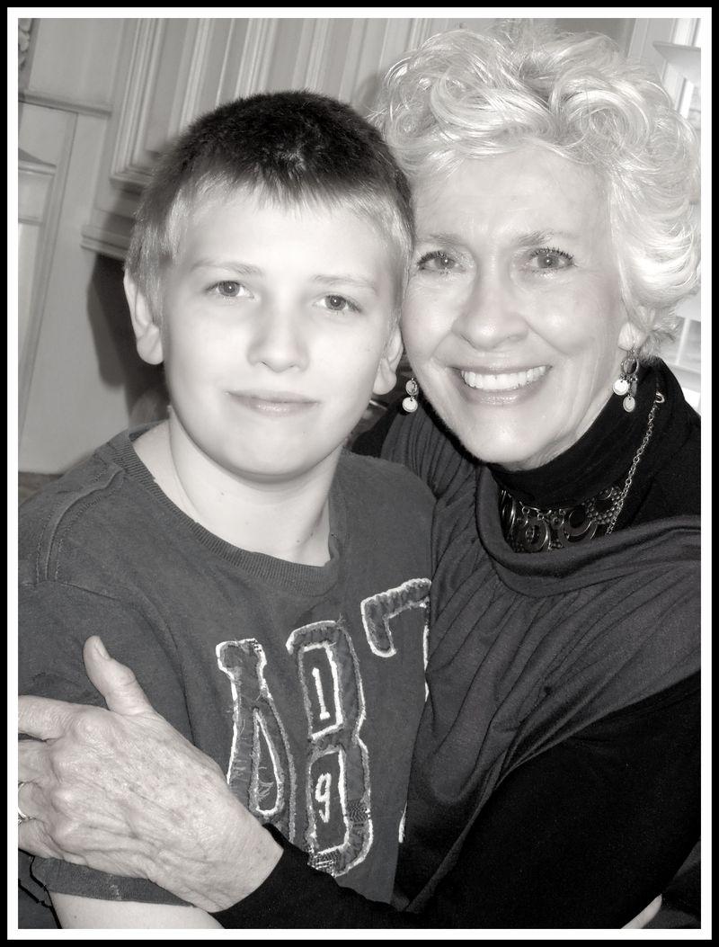 Grandma and ty