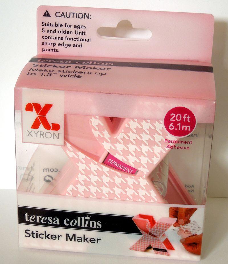 Teresa collins X Sticker Maker