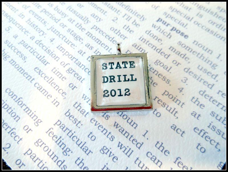 Drill team charm 7