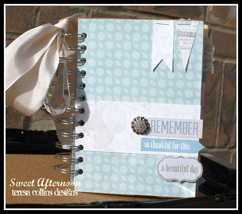 Sweet Afternoon 5x7 REMEMBER book cover