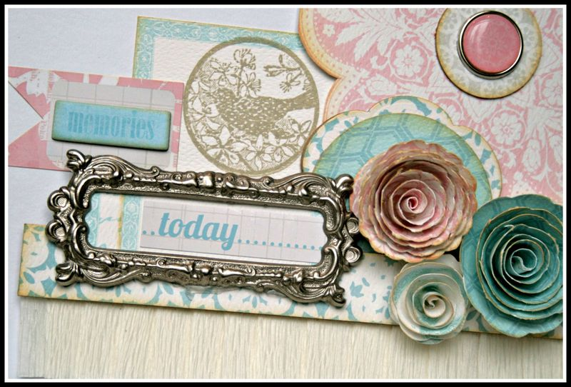 Teresa Collins - Sweet afternoon - mini album by Cheri Piles - cover detail