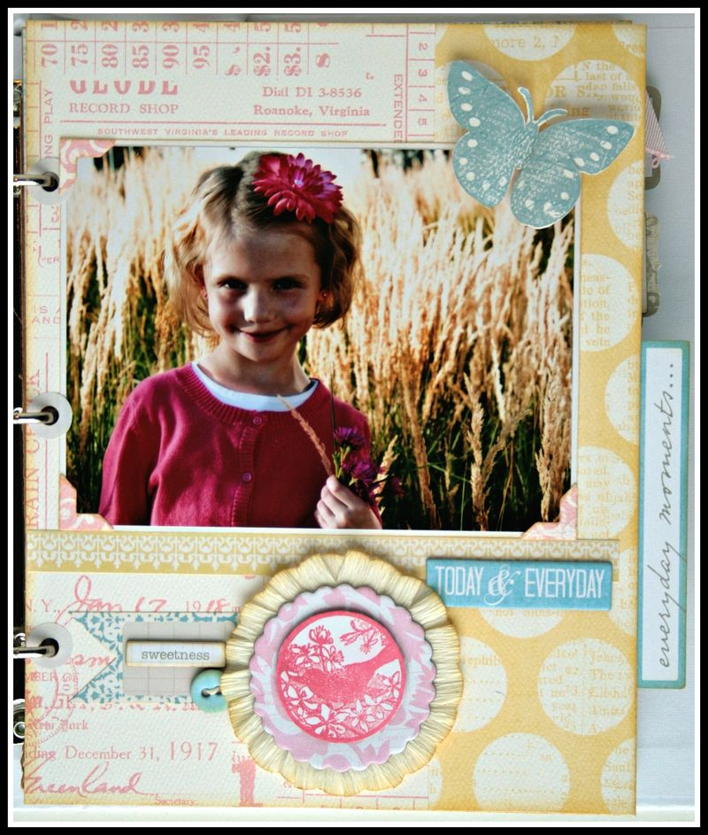 Teresa Collins - Sweet afternoon - mini album by Cheri Piles - page 1