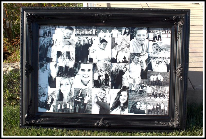LARGE FRAME with photos