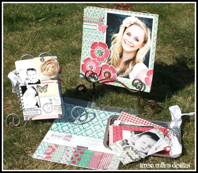LARGE TAG BOOK- spring fling view