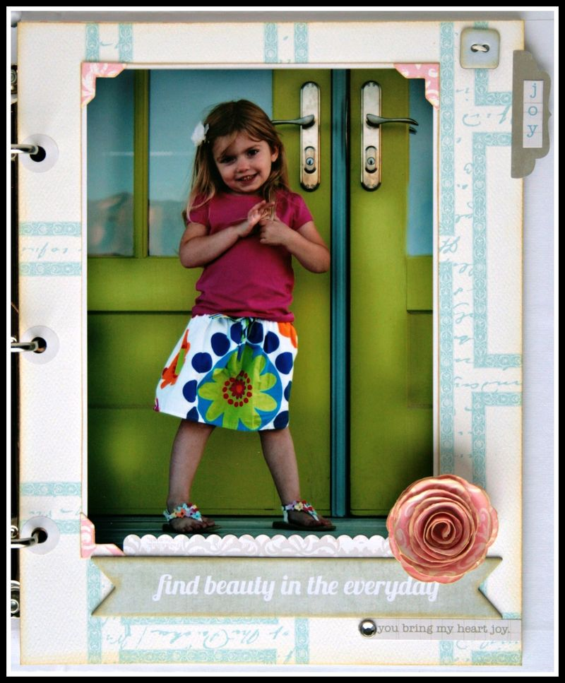 Teresa Collins - Sweet afternoon - mini album by Cheri Piles - page 2-1
