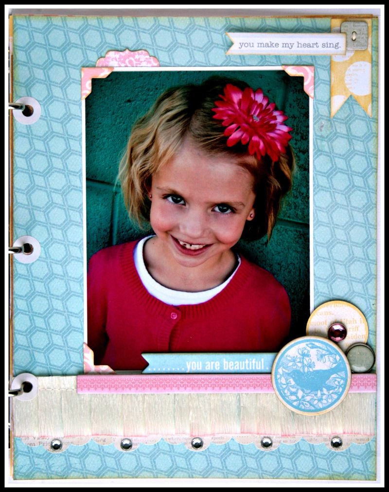 Teresa Collins - Sweet afternoon - mini album by Cheri Piles - page 3