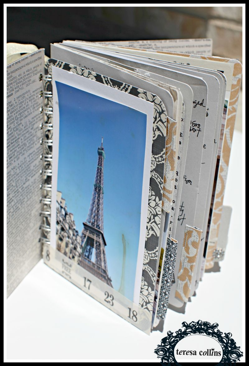 Story Chipboard album view 2