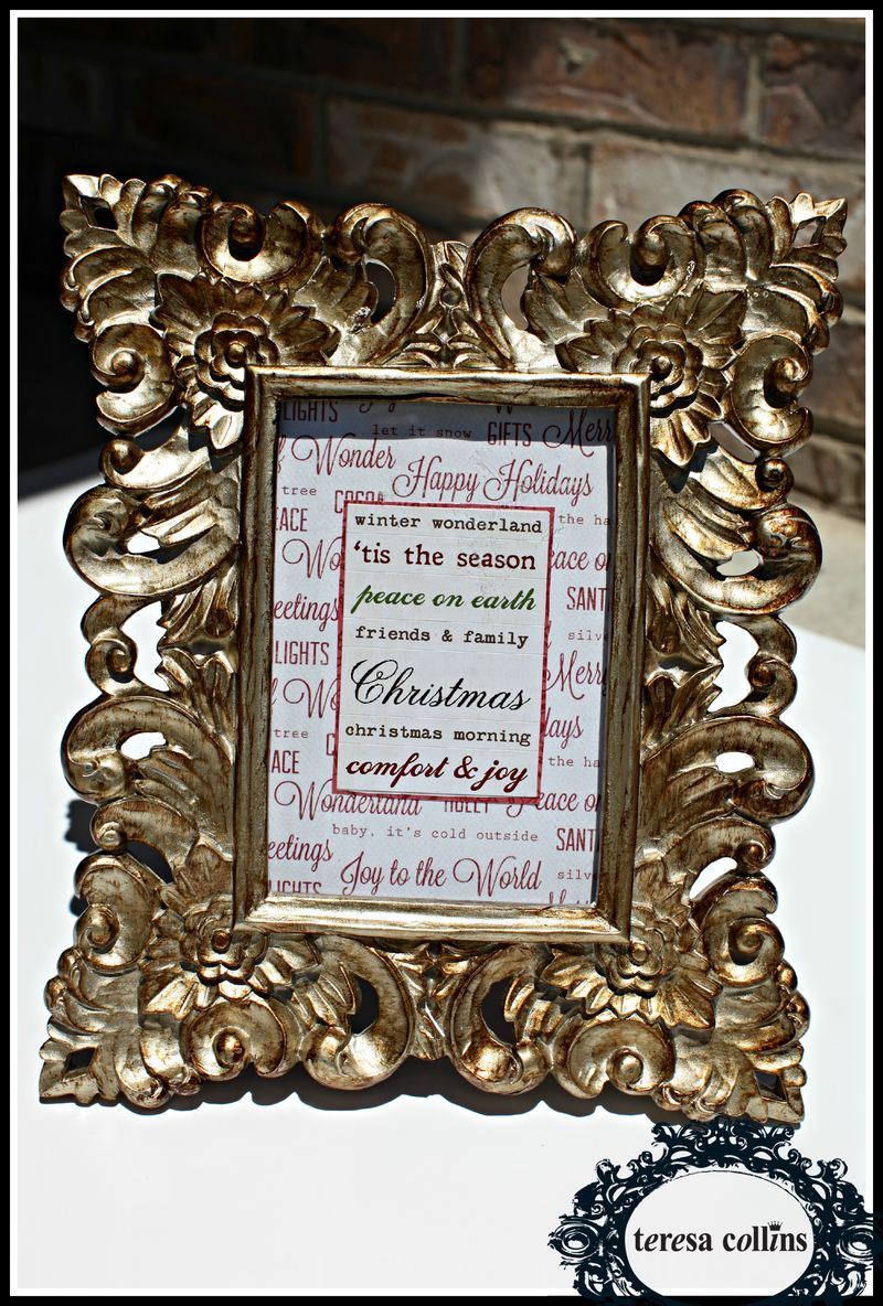 Christmas Cottage FRame