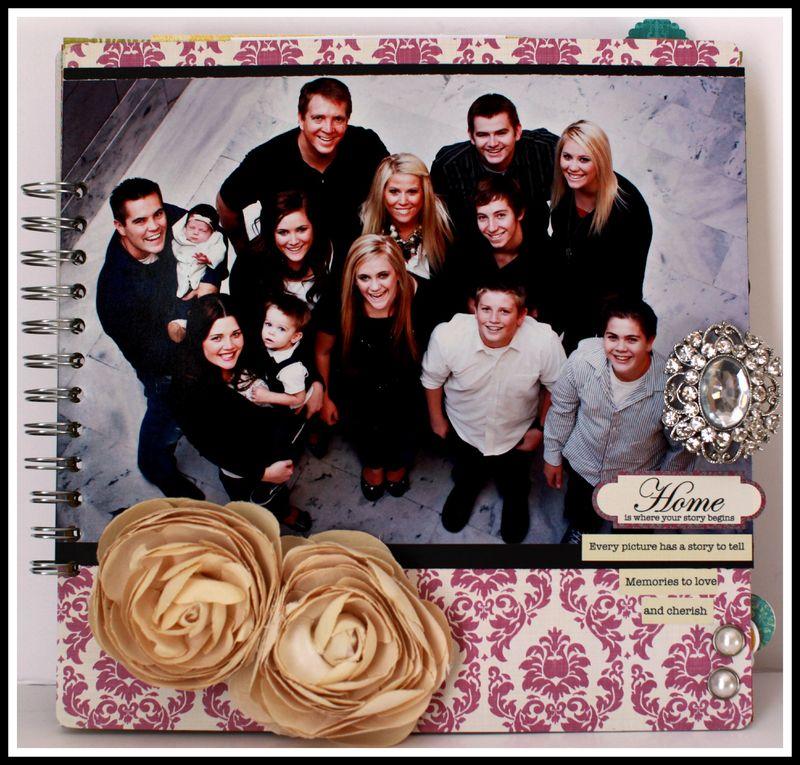 FABRICATIONS- HOME 10x10 album BLOG